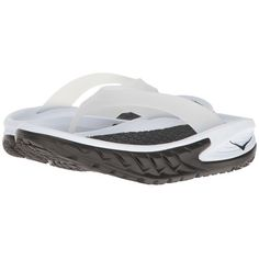 0eb98a600422 Hoka One One Ora Recovery Flip (Black White) Women s Running Shoes ( 50