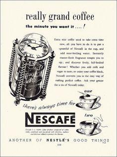 Nescafe Ad, 1950 by alsis35, via Flickr