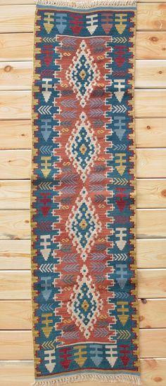 Oriental Rug Bohemian Runner 1.87 x 6.62 ft Rug Runner Turkish