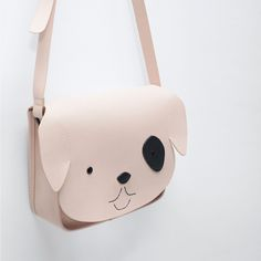 Imagen 5 de BANDOLERA DOG de Zara Small Leather Bag, Black Leather Bags, Zara Kids, Leather Bag Pattern, Back Bag, Unique Bags, Leather Bags Handmade, Girls Bags, Messenger Bag