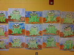 frog artwork