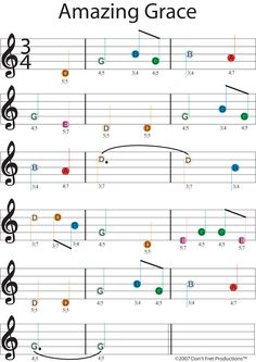 Cord Piano easy guitar sheet music for amazing grace featuring don't fret producitons color coded guitar tablature Beginner Piano Music, Guitar Songs For Beginners, Easy Sheet Music, Easy Piano Sheet Music, Learn Guitar Beginner, Amazing Grace Sheet Music, Easy Guitar Songs, Song Sheet, Music Sheets