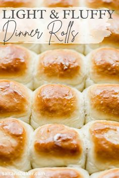 These are the best homemade dinner rolls. They are easy to make and have a fairly quick rise. If you are looking for homemade dinner rolls that are better than pioneer woman or lion house, try this recipe! Best Dinner Roll Recipe, Dinner Rolls Recipe, Thanksgiving Dinner Recipes, Holiday Recipes, Holiday Desserts, Side Dishes Easy, Side Dish Recipes, Baker Recipes, Bread Recipes