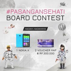 Hadiah seru yang bisa kamu menangin dari Dream Date with #PasanganSehati Board Contest