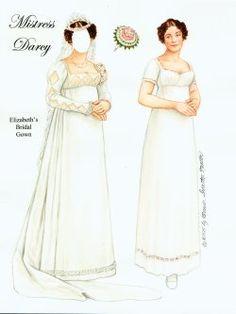Misstress Darcy - What Elizabeth Bennett wears after the wedding