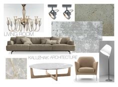 """Living sample 7"" by kalujak on Polyvore featuring interior, interiors, interior design, дом, home decor, interior decorating и Artemide"