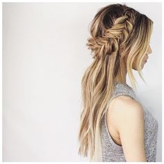 Your Ultimate Summer Braid Guide, Straight From Instagram ❤ liked on Polyvore featuring hair, braid and hairstyles
