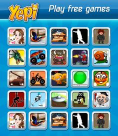 What are some popular games for boys on Yepi?