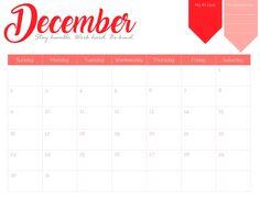 blank december 2018 blank goal planner printable blank calendar monthly calendar template schedule maker