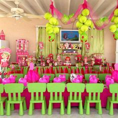 Strawberry Shortcake Birthday Party Ideas | Photo 20 of 26 | Catch My Party