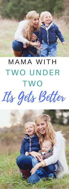 A toddler and a baby is really hard. Two kids under two is one of the hardest seasons I've been through as a mom, and I tell you when it gets better!
