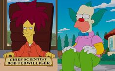 """Who will die in the 26th premiere of """"The Simpsons""""? Krusty or Sideshow Bob? Take a guess now!"""