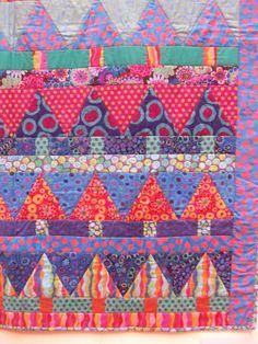 Kaffe Fassett Quilt Patterns Free | Kaffe Fassett's quilts. | Paint Drops Keep Falling