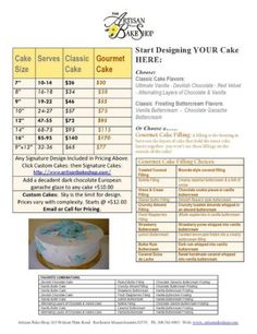 Artisan Bake Shop: 2011 Cake, Cupcake,