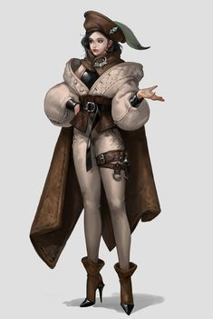 Character Design Cartoon, Fantasy Character Design, Character Design References, Character Design Inspiration, Game Character, Character Concept, Concept Art, Steampunk Drawing, Arte Steampunk