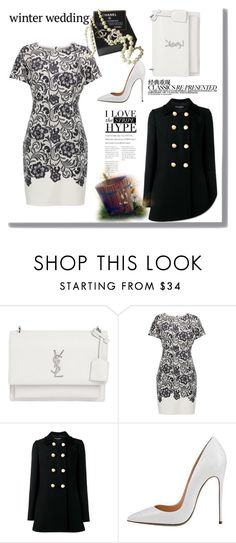 """""""untitled 278"""" by deboraaguirregoncalves ❤ liked on Polyvore featuring Chanel, Yves Saint Laurent and Dolce&Gabbana"""