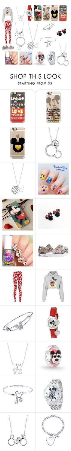"""Mickey Mouse"" by maddie-the-cowgirl ❤ liked on Polyvore featuring Casetify, Disney, Vans, Topshop, Bling Jewelry and Belk Silverworks"