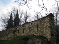 The Wall at Vysehrad
