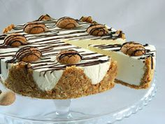 Blueberry Cheesecake, Sweet Tarts, Dessert Drinks, Desert Recipes, Cheesecakes, Biscuit, Food And Drink, Cooking Recipes, Yummy Food