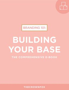 Building Your Base — The Crown Fox - New E-book coming April 1st! Get the pre-sale price now!