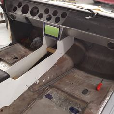 """Custom 66-67 chevelle dash and custom console being built for a 70 chevelle! #ABCPerformance"""