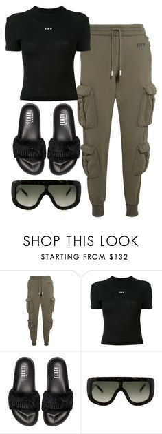 """Untitled #4117"" by dkfashion-658 on Polyvore featuring Off-White, Puma and CÉLINE"