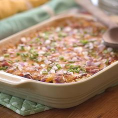 Recipe of the Day: Here's an out-of-the-box way to use that beautiful summer squash that's abundant in backyard gardens and farmer's markets this time of year. This simple Tex-Mex Summer Squash Casserole has plenty of spicy South-of-the-border flavor, but only 101 calories per serving - a healthy summer recipe you'll want to hang onto. #healthyrecipes #casserole #summer #squash #texmex #dinner