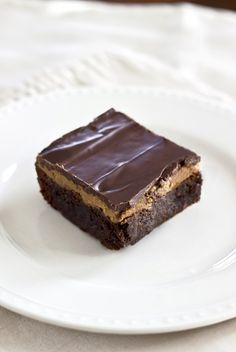 These may be the best brownies in the world... Buckeye Brownies that are refined sugar, dairy  gluten free!!