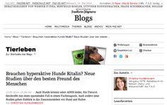 FAZ.de: Brauchen hyperaktive Hunde Ritalin?