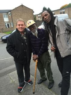 Dave Wakeling, Saxa, and Ranking Roger in 2015