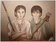 WoT: Tam and Abell by G-a-t-i-n-h-a.deviantart.com on @deviantART