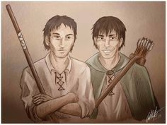 WoT: Tam and Abell by G-a-t-i-n-h-a.deviantart.com on @deviantART