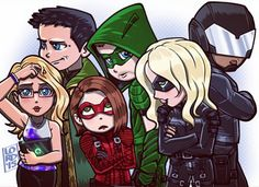 #Arrow fan art