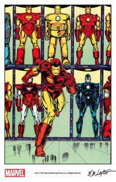 Iron Man by Bob Layton from Marvel Fanfare #45 (1989)