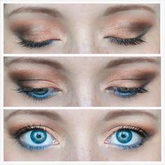 #makeuplook #semisweet #chocolatebarpalette #toofaced