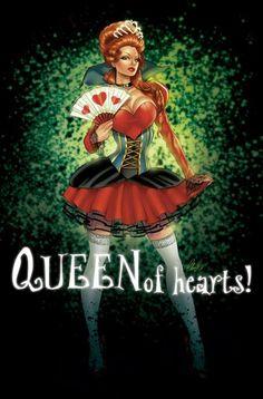 Elias Chatzoudis - Queen of Hearts (Art)