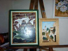 cuadros decorativos en oleo y acrilico de Monica Rodriguez