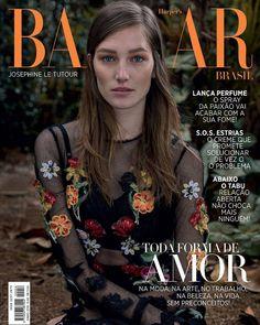 Joséphine Le Tutour by Gui Paganini for Harper's Bazaar Brazil June 2016 cover - Dolce&Gabbana Spring 2016