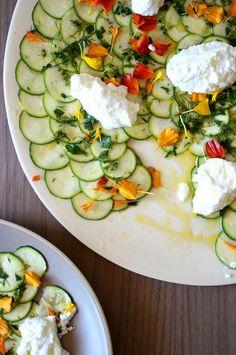 Zucchini Carpaccio Recipe