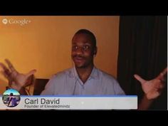 Here I interview Carl David !!! He shares his back story and how he about in the Network Marketing World !!! He also gives tips on how to cut down the time of the learning curve. This was so informative !!! You Need To Watch This !!!   Side note we had a little problem with my cam it didn't show me ?!?!? :( The Value so so good i had to share it anyway even if you didn't see me in it !!! This was the !st show of the series and we had some bugs . So it was also a learning experience for me.