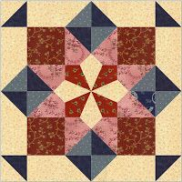 Country Rose Quilts: Luise - Block 8