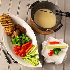 Fondue with veggies - Blog 1237