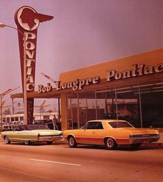 It was the 50's, and when the new cars arrived at the Dealerships, those big x-military flood lights lit up the sky and you followed the light to the dealership, where you were mesmerized by the big, shiny, chromed beauties from Detroit, we all loved them!