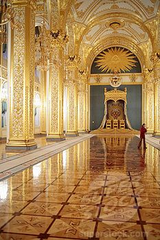 Genial Russian Palace Interior