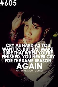 never the same thing keep making you cry...