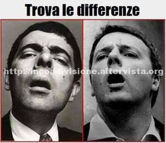 Foto Somiglianze tra _Renzi e Mr Bean Funny Cute, Hilarious, Mr Bean, Feelings Words, Have A Laugh, Funny Posts, True Stories, Comedy, Funny Pictures