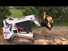 Have Fun And Enjoy Splitting Firewood With The Halverson Skid Steer Firewood Processor. Engineered And Designed For A One Man Operation From The Comfort Of Y. Firewood Processor, Fire Wood, Youtube, Modern, Trendy Tree, Youtubers, Youtube Movies