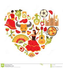 Illustration about Decorative spain cultural traditions flamenco dance food grape vine emblems heart shape print poster abstract vector illustration. Illustration of heart, culture, flyer - 43147788 Gold Glitter Background, Geometric Background, Dom Quixote, Spain Culture, Shape Posters, Abstract Paper, Pink Watercolor, Abstract Styles, Art Deco Design