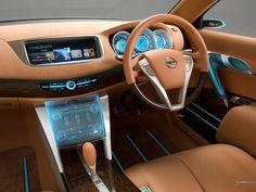 Fondo de Timón de un Nissan Intima en Fondos y Pantallas