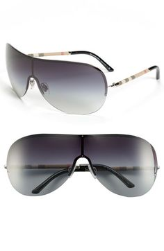 Burberry Shield Sunglasses   Nordstrom